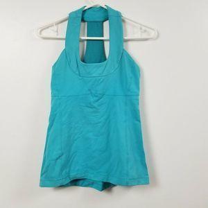 Lululemon Womens Workout Tank Top 4 Blue